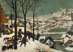 Les Chasseurs dans la neige (Pieter Brueghel le Vieux) - Muzeo.com