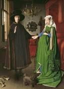 Les époux Arnolfini (Jan Van Eyck) - Muzeo.com