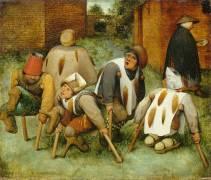Les Mendiants (Brueghel Pieter le Vieux) - Muzeo.com