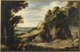 Pan et Syrinx - Paysage (Bril Paul) - Muzeo.com