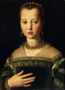 Portrait de Marie de Médicis (Bronzino) - Muzeo.com