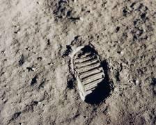 Apollo 11 bootprint (Nasa) - Muzeo.com