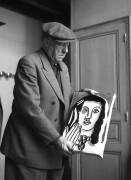 Le peintre Fernand Léger dans son atelier - 1950 (Bloncourt Gérald) - Muzeo.com