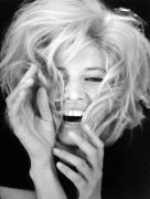 Portrait de l''actrice italienne Monica Vitti. (anonyme) - Muzeo.com