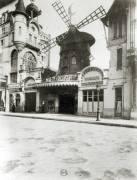 Le Moulin Rouge, Paris (Eugène Atget) - Muzeo.com