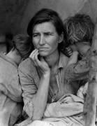 Migrant mother (Dorothea Lange) - Muzeo.com