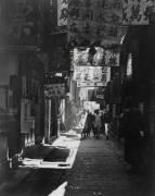 Une rue de Shangai en Chine en 1906. (Gibbes E. B.) - Muzeo.com
