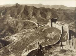 Le mur de chine en 1907 (Ponting, Herbert) - Muzeo.com