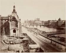 La destruction de la Grande Galerie (Baldus Edouard) - Muzeo.com
