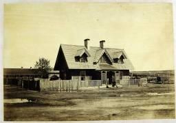 Maison du colonel Bullock, Fort Laramie (Alexander Gardner) - Muzeo.com